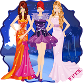 Dress Up Fashion At Night Game