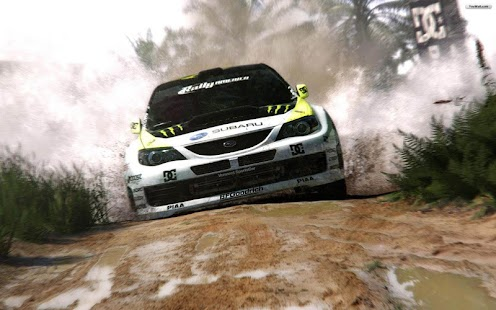Snowy Racing Car - screenshot thumbnail