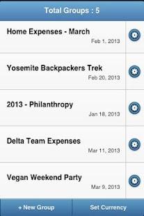 GEM - Group Expense Manager - screenshot thumbnail