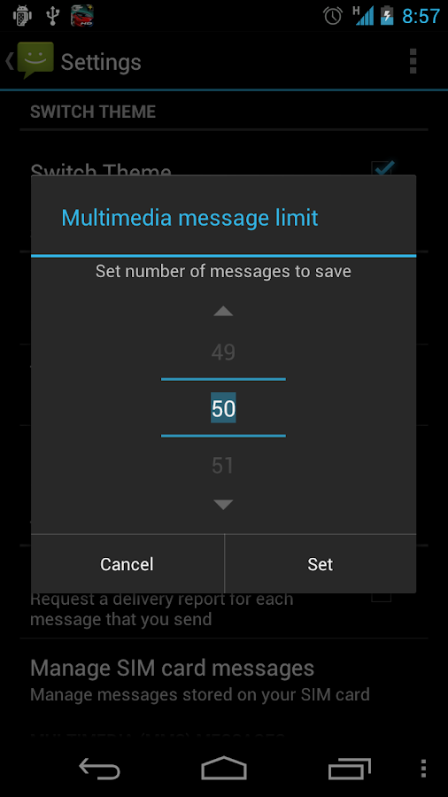Messaging Pro G - screenshot