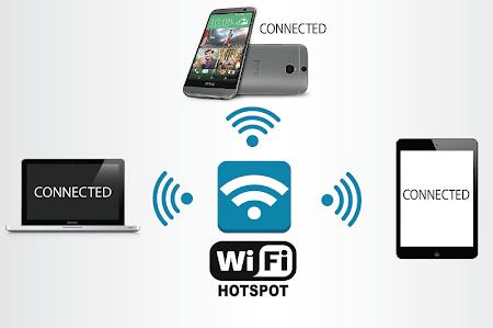 Wifi Hotspot Free from 3G, 4G 1.5 screenshot 298871