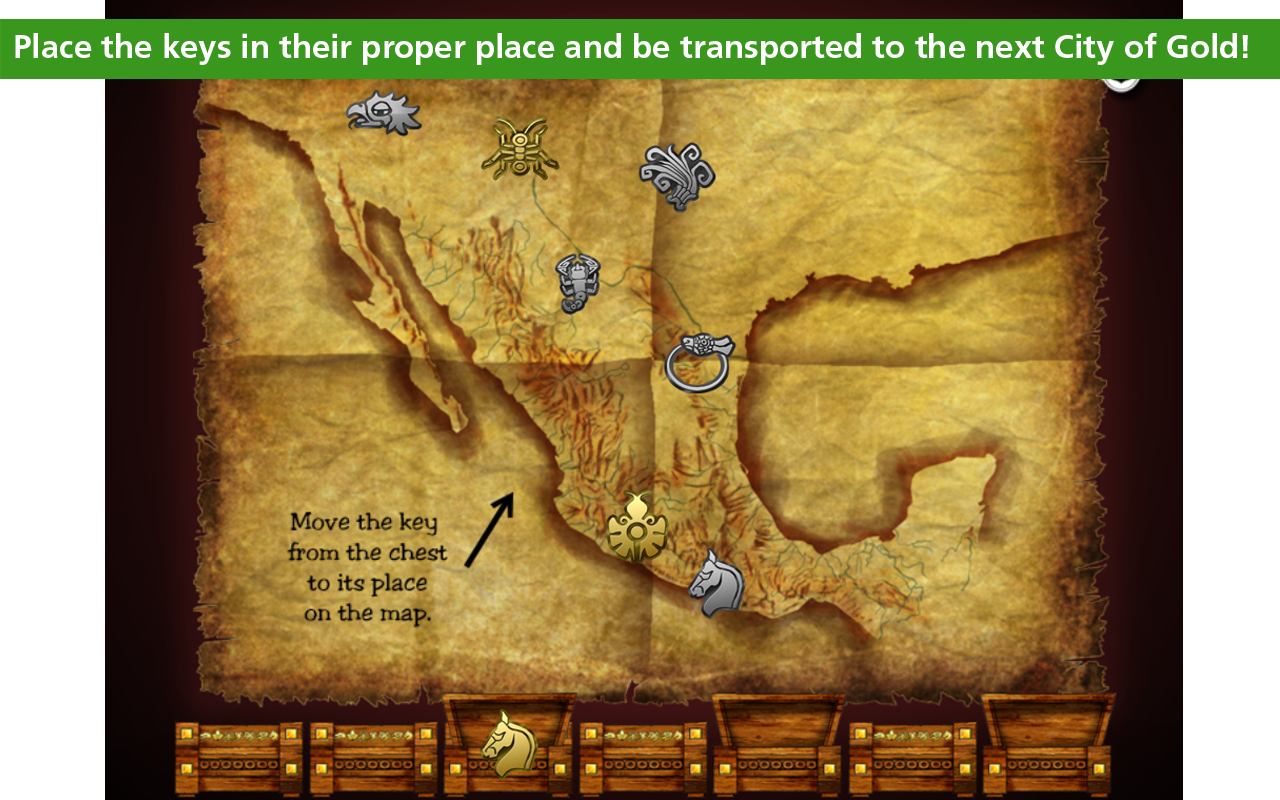 Treasure Kai 7 Cities of Gold- screenshot