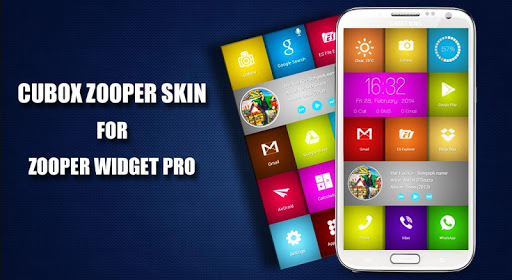 Cubox Zooper Skin