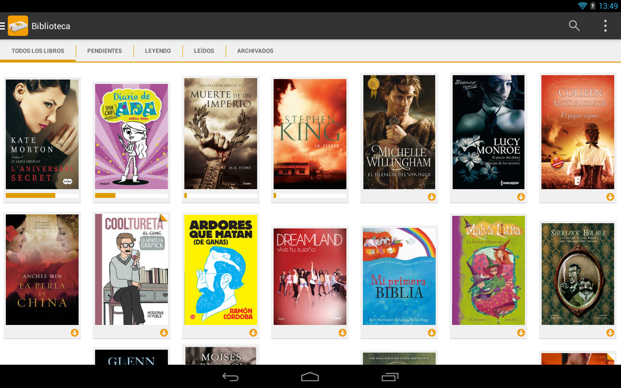 Fnac ebooks- screenshot