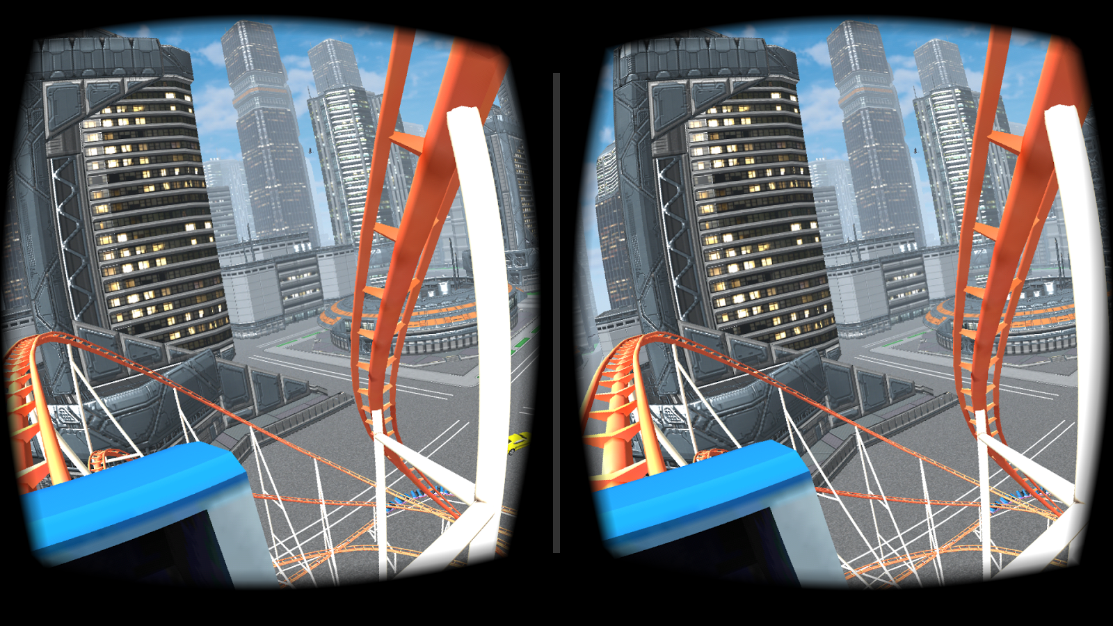 VR Roller Coaster - screenshot