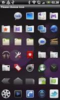 Screenshot of Honeycomb GO Launcher EX Theme