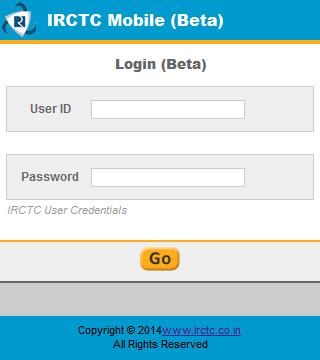 IRCTC Insta Booking