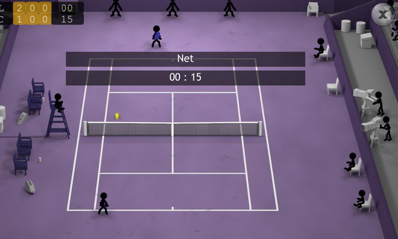Stickman Tennis screenshot #13