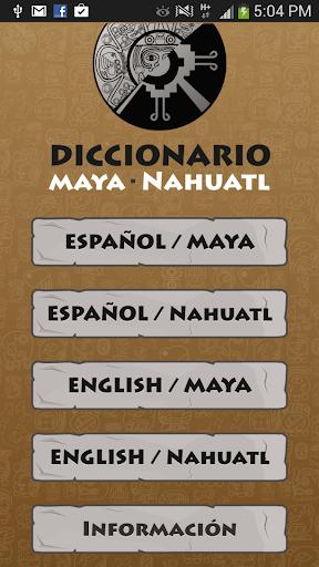 Maya - Nahuatl Dictionary
