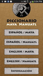 Maya - Nahuatl  Dictionary- screenshot thumbnail