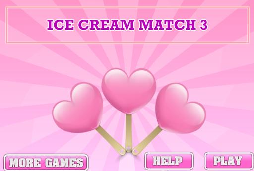 เกมส์จับคู่ไอกรีม ice cream