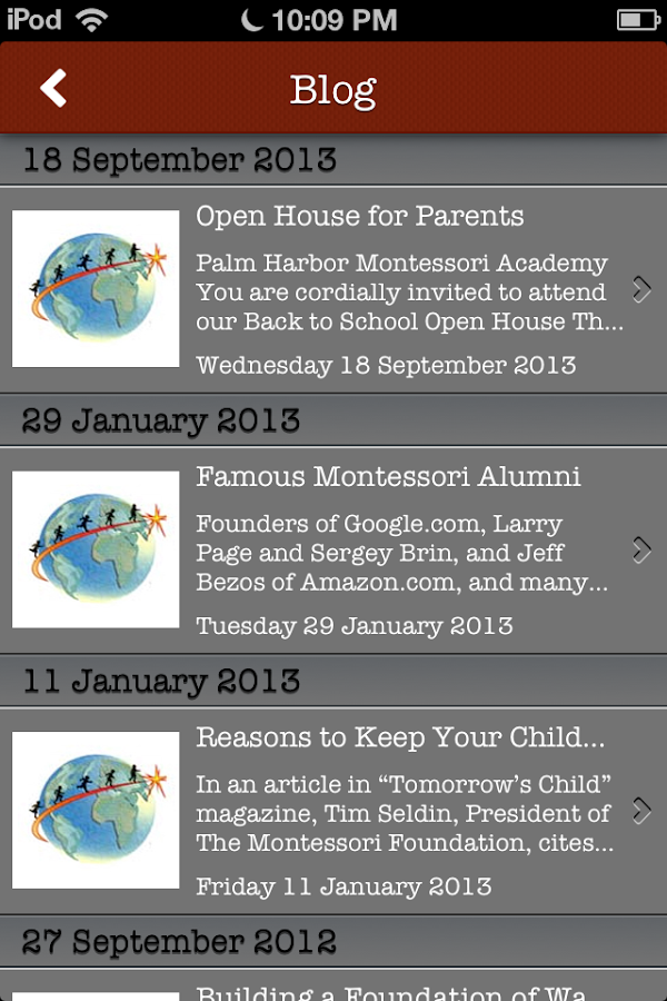 Palm Harbor Montessori Academy - screenshot