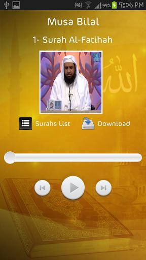 Musa Bilal - Holy Quran