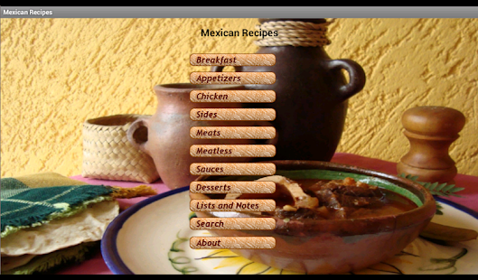 Flavorful Mexican Recipes Free - screenshot thumbnail