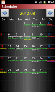 Scheduler- screenshot thumbnail