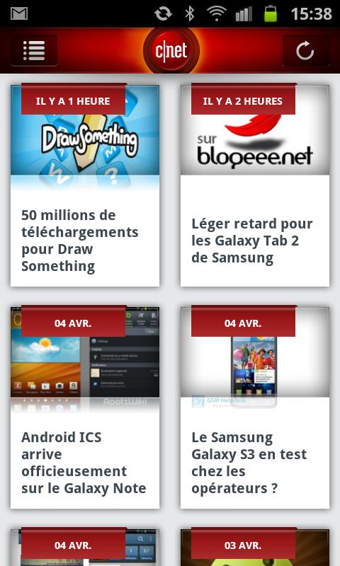 CNET Global - screenshot