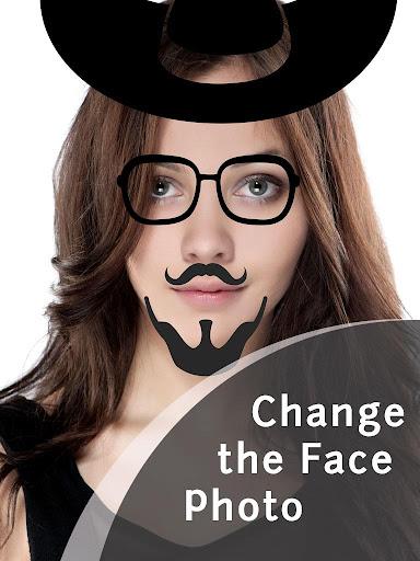 改變臉部照片