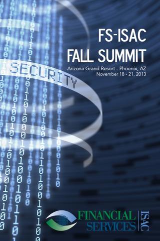 FS-ISAC Fall Summit 2013