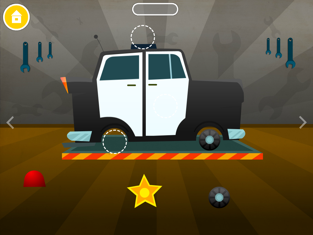 car builder free kids game screenshot
