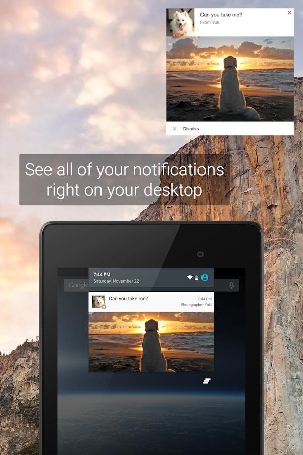 Pushbullet - screenshot