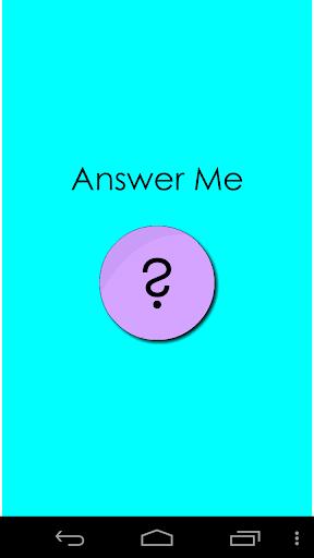 Answer Me ? Test screenshots 1