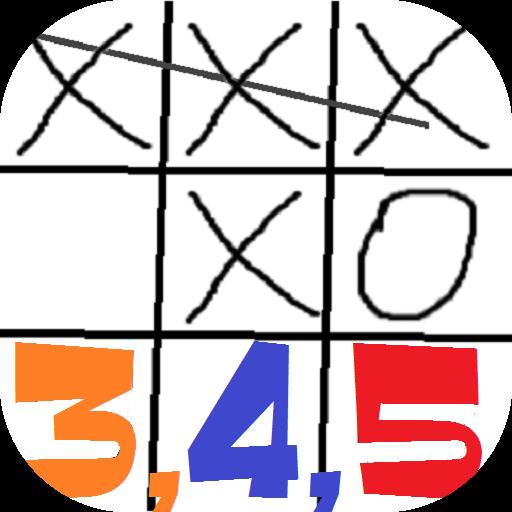 井字棋3-4-5 棋類遊戲 App LOGO-硬是要APP