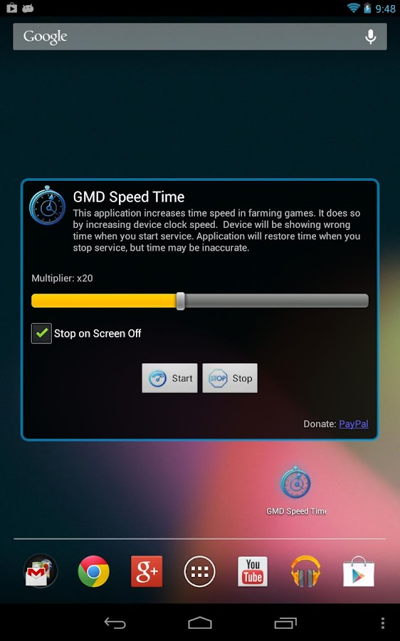 GMD Speed Time (Lite) ★ root - screenshot
