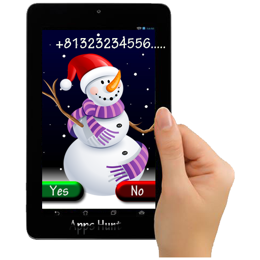 Snowman Caller ID