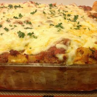 Baked Ziti Recipe Italian Pasta al Forno.