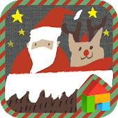 Xmas Gift LINE Launcher theme