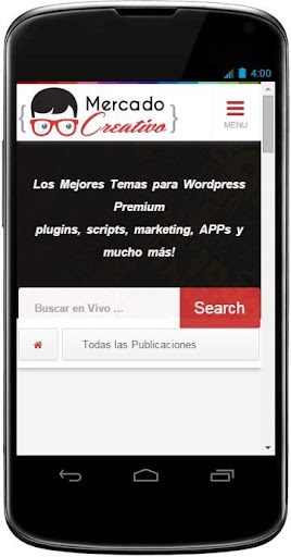 Mercado Creativo Wordpress