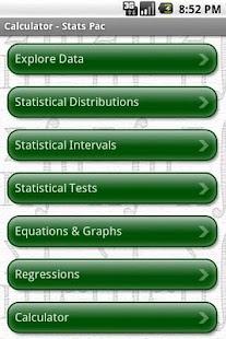 StatsPac - Graphing Calculator- screenshot thumbnail