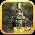 Grenade explosion sound icon