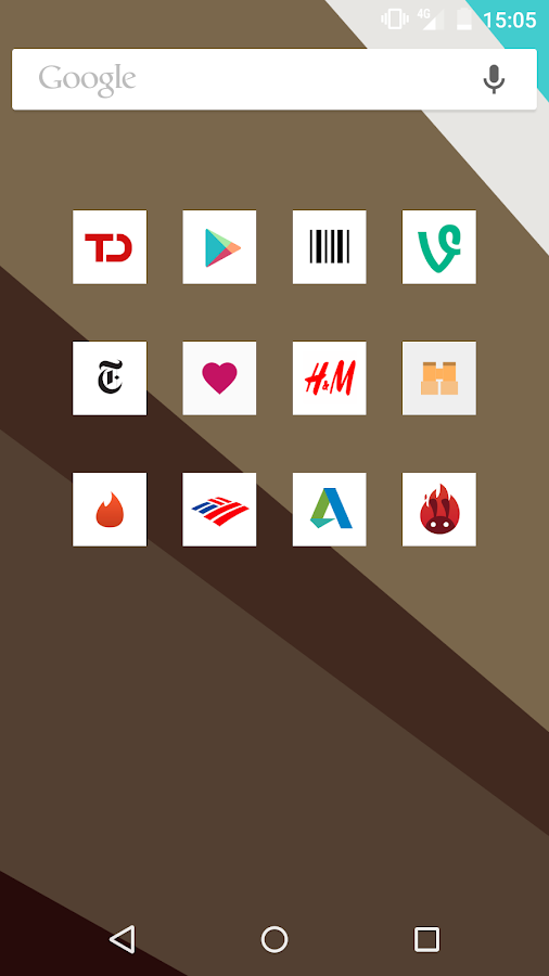 Square Icon Pack - screenshot
