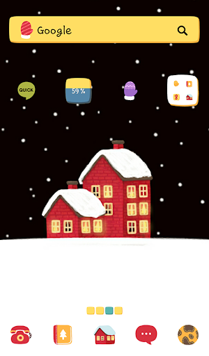 Winter Night 도돌런처 테마