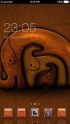 Three Elephants Theme - screenshot