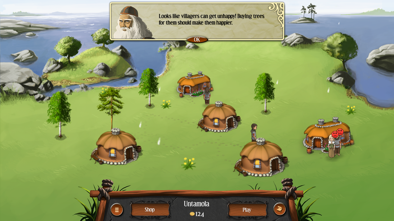 Heroes of Kalevala- screenshot