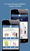 Screenshot of C-wallet, promotions gratuites