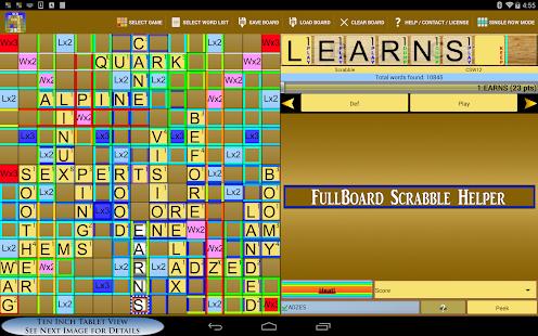 Scrabble Word Finder Helper