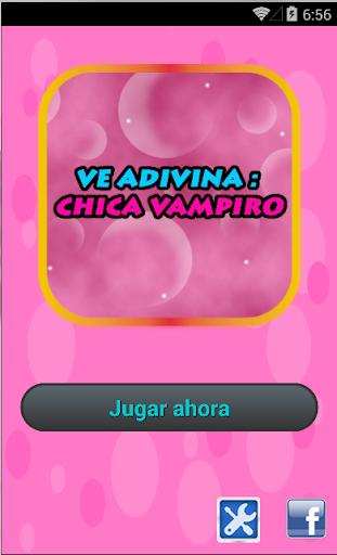 Ve Adivinha: Chica Vampiro