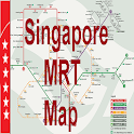 Singapore Offline MRT map