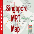 Singapore Offline MRT map icon
