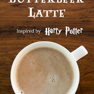 Harry Potter Inspired Butterbeer Latte.