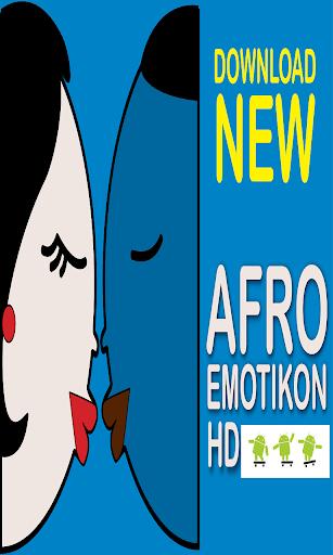 AFRO Emoticon II