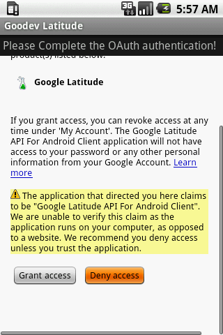 Goodev Latitude- screenshot