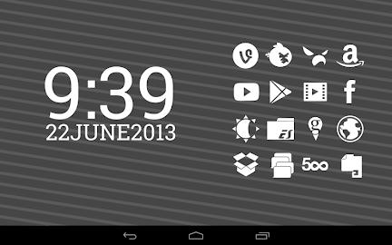 Stamped White Icons Screenshot 4