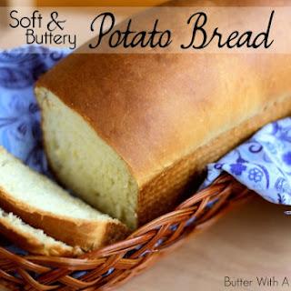 Soft & Buttery Potato Bread.