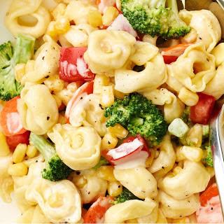 Tortellini Caesar Pasta Salad.