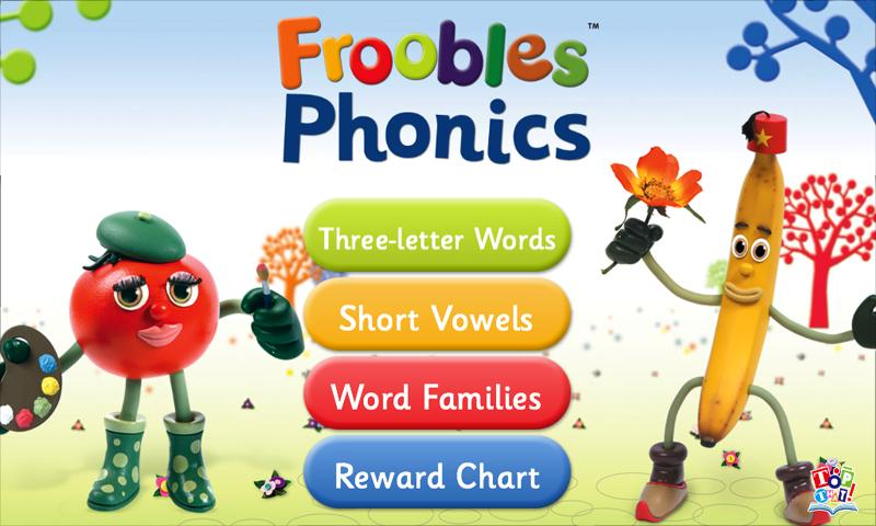 Froobles Phonics- screenshot