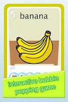 Screenshot of Bubble Popper 3:Baby Flashcard